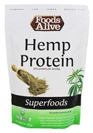 Foods Alive - Organic Hemp Protein Powder - 8 oz.