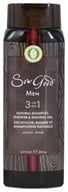 Sow Good - Men 3 in 1 Natural Shampoo, Shower & Shaving Gel Woods - 16.9 oz.