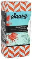 Saavy Naturals - Jojoba Handcrafted Soap Mango Papaya - 8 oz. LUCKY PRICE