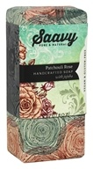 Saavy Naturals - Jojoba Handcrafted Soap Patchouli Rose - 8 oz. LUCKY PRICE