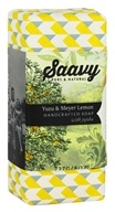 Saavy Naturals - Jojoba Handcrafted Soap Yuzu & Meyer Lemon - 8 oz. LUCKY PRICE