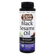 Foods Alive - Organic Black Sesame Oil - 8 oz.