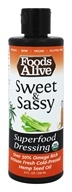Foods Alive - Organic Superfood Dressing Sweet & Sassy - 8 oz.