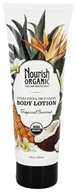 Nourish - Organic Body Lotion Tropical Coconut - 8 oz. LUCKY PRICE