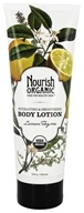 Nourish - Organic Body Lotion Lemon Thyme - 8 oz. LUCKY PRICE