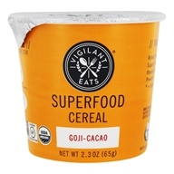 Vigilant Eats - Organic Superfood Oat-Based Cereal Goji-Cacao - 2.7 oz.