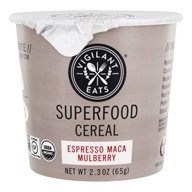 Vigilant Eats - Organic Superfood Oat-Based Cereal Espresso Maca Mulberry - 2.7 oz.