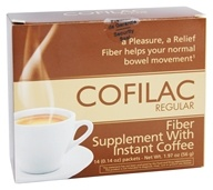 Cofilac - Fiber with Instant Coffee - 14 Packet(s)