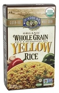 Lundberg - Organic Whole Grain Yellow Rice - 6 oz.