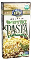 Lundberg - Organic Whole Grain Brown Rice Pasta Garlic & Olive Oil - 4.5