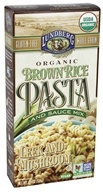Lundberg - Organic Whole Grain Brown Rice Pasta Leek & Mushroom - 4.5 oz.