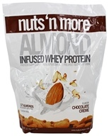 Nuts N More - Almond Infused Whey Protein Chocolate Creme - 2.1 lbs.