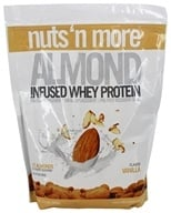 Nuts N More - Almond Infused Whey Protein Vanilla - 2 lbs.