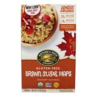 Gluten-Free Instant Oatmeal Brown Sugar Maple - 8 Packet(s) by Nature's Path Organic