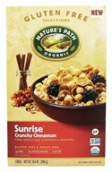 Nature's Path Organic - Gluten Free Cereal Sunrise Crunchy Cinnamon - 10.06 oz.