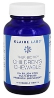 Klaire Labs - Ther-Biotic Children's Chewable - 60 Chewable Tablets