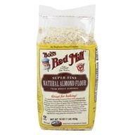 Bob's Red Mill - Gluten-Free Finely Ground Almond Natural Meal - 1 lb.