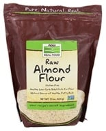 NOW Foods - Now Real Food Raw Almond Flour Gluten Free - 22 oz.