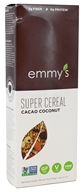 Emmy's Organics - Raw Super Cereal Cacao Coconut - 11 oz.