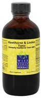Wise Woman Herbals - Hawthorne & Linden Tonic - 4 oz. (Formerly Hawthorne Tonic HBP)