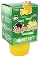 Little Duck Organics - Organic Mighty Oats Instant Super Cereal 4 Months+ Coconut Banana - 1.8 oz.