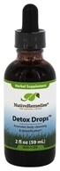 Native Remedies - Detox Drops Herbal Supplement - 2 oz.