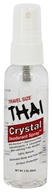 Thai Deodorant Stone - Crystal Deodorant Spray Travel Size - 2 oz.