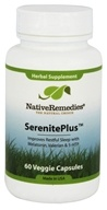 Native Remedies - SerenitePlus Herbal Supplement - 60 Vegetarian Capsules