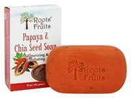 Roots & Fruits - Papaya & Chia Seed Soap Moisturizing & Exfoliating - 5 oz.