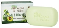 Roots & Fruits - Avocado & Olive Oil Soap for Silky Smooth Skin - 5 oz.
