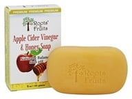 Roots & Fruits - Apple Cider Vinegar & Honey Soap Naturally Balances Skin pH - 5 oz.