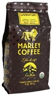 Marley Coffee - Lively Up Organic Whole Bean Espresso Coffee - 8 oz.