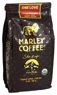 Marley Coffee - One Love Organic Whole Bean Ethiopia Yirgacheffe Coffee - 8 oz.