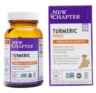 New Chapter - Turmeric Force - 60 Vegetarian Capsules