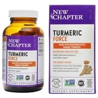 New Chapter - Turmeric Force - 120 Vegetarian Capsules