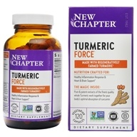 Turmeric Force - 120 Vegetarian Capsules by New Chapter