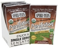 Nature's Plus - Spiru-Tein PureTrition High Protein Energy Meal Dark Chocolate - 1 Packet
