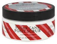 Deep Steep - Sugar Cane Foot Scrub Candy-Mint - 8 oz.