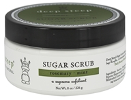Deep Steep - Sugar Scrub Rosemary-Mint - 8 oz.