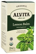 Alvita - Organic Lemon Balm Tea - 24 Tea Bags LUCKY PRICE
