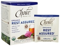Choice Organic Teas - Wellness Teas Rest Assured - 16 Tea Bags