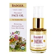 Badger - Face Oil Unscented - 1 oz.