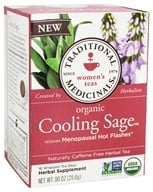 Traditional Medicinals - Organic Cooling Sage Women's Tea - 16 Tea Bags