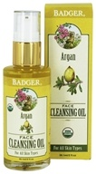 Badger - Face Cleansing Oil Argan - 2 oz.