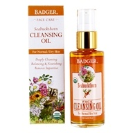 Badger - Face Cleansing Oil Seabuckthorn - 2 oz.
