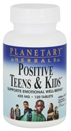 Planetary Herbals - Positive Teens & Kids 435 mg. - 120 Tablets