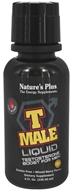 Nature's Plus - T-Male Liquid Testosterone Boost For Men Mixed Berry - 8 oz.