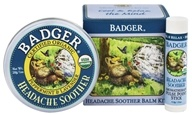 Badger - Aromatherapy Headache Soother Gift Cube Lavender & Peppermint