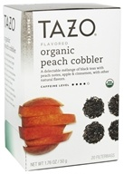 Tazo - Black Tea Organic Peach Cobbler - 20 Bags