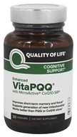 Quality Of Life Labs - Enhanced VitaPQQ Cognitive Support - 30 Vegetarian Capsules